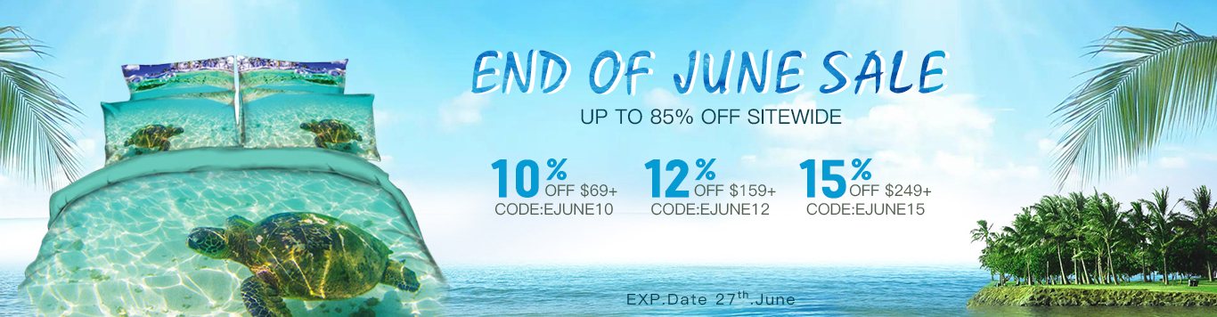 Up to 85% Off Sitewide+ 10% OFF $69+,  CODE:EJUNE10;12% OFF $159+, CODE:EJUNE12;15% OFF $249+, CODE:EJUNE15.