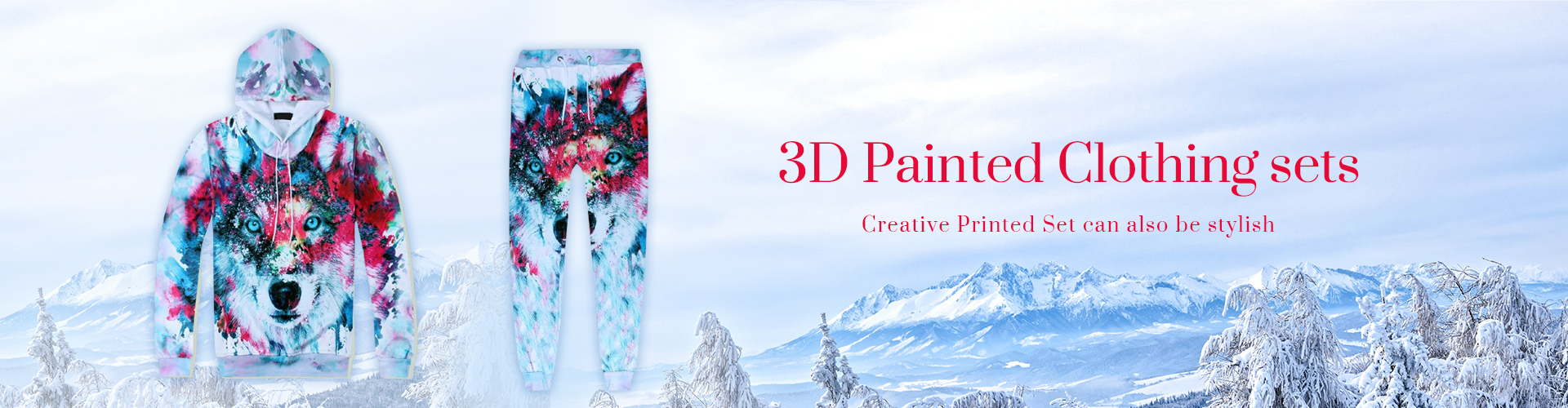 3D Painted Clothing sets