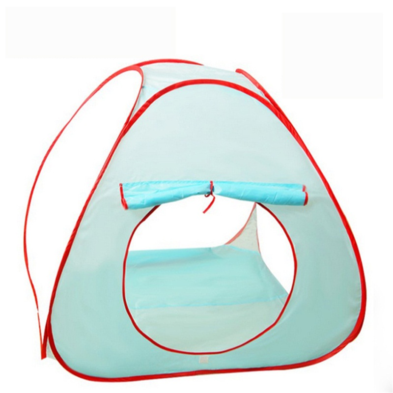 Portable Polyester Simple Style 1-Piece Kids Indoor Tent